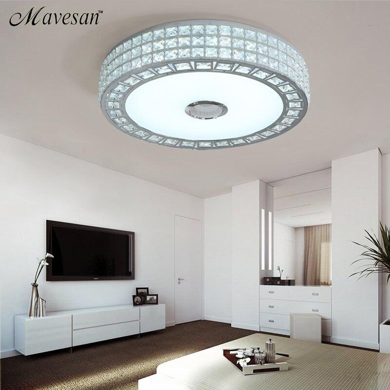 Autai Deckenlampe Mit Integriertem Bluetooth Lautsprecher Und Rgb