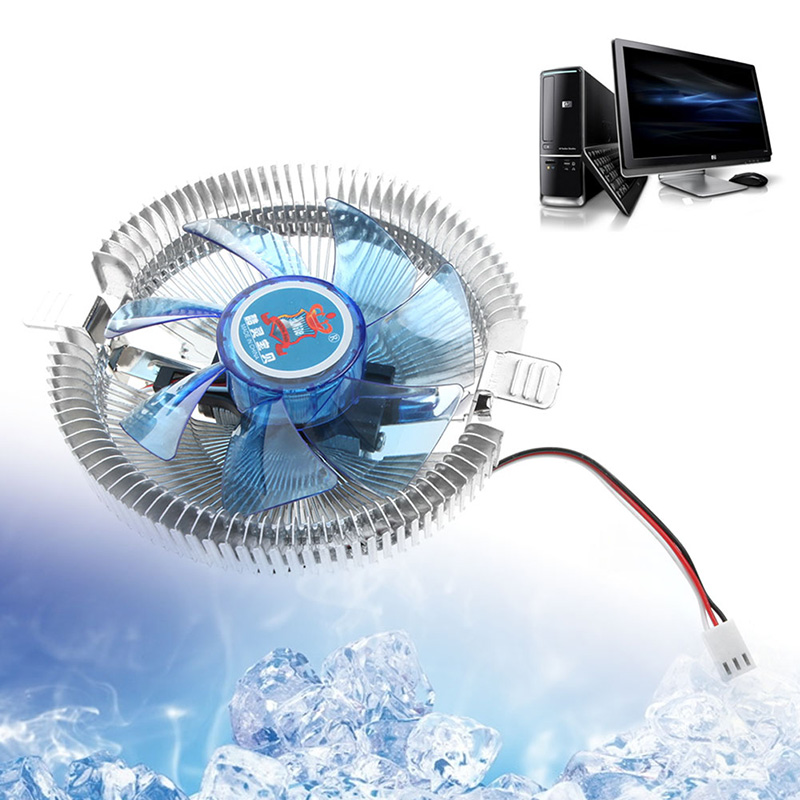 DC12V 3PIN 7 Silent CPU Cooling Cooler Fan Heatsink Support Intel/AMD CPU computer cooler radiator with heatsink heatpipe cooling fan for hd6970 hd6950 grahics card vga cooler