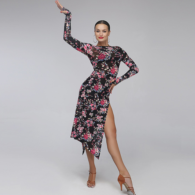 latin dance dress fringe women latin salsa dress dancing clothes Dancewear  latin dress latin dance costumes for women tango 9b18363b3