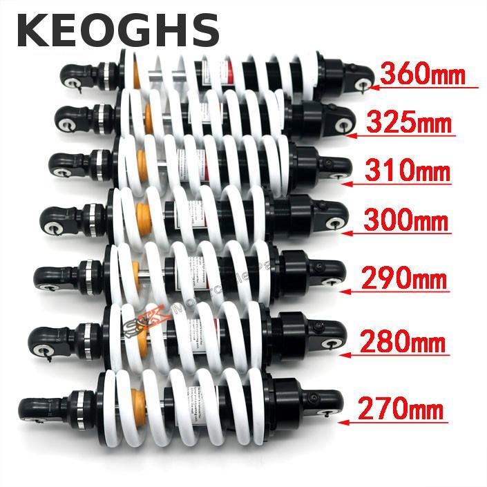 KEOGHS Байк задний Амортизатор регулировка отбоя 325 мм 310 мм 360 мм для KTM ATV квадроцикл Аполлон Xmotos Klx110 Crf50/70