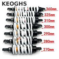 KEOGHS Dirt Bike Rear Shock Absorber Rebound Damping Adjustable 310mm 325mm 360mm For Ktm Atv Quad Apollo Xmotos Klx110 Crf50/70