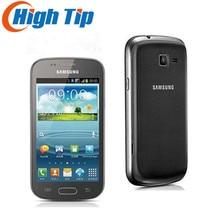 Оригинальный Samsung S7562 Galaxy S Duos сотовых телефонов 5-мегапиксельная камера WIFI GPS Android 4.0 Dual SIM карты Восстановленное Перевозка груза падения