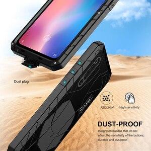 Image 5 - ForXiaomi9 9 T твердый корпус для телефона Алюминиевый металлический протектор экрана из закаленного стекла полное покрытие сверхмощный защитный чехол