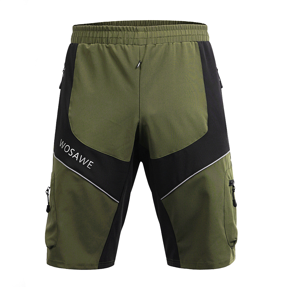 Wolfbike Men's Cycling Shorts MTB Downhill Outdoor Sport Shorts with - Cycling - Photo 5