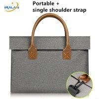 New Laptop Bag Felt Universal Shockproof Case Briefcase Shoulder Handbag For Macbook Air Pro Retina 11