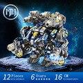 2016 MU Metal 3D Puzzle Star Craft Thor YM-N020 Armor 2 en 1 Joint Movable Modelo DIY 3D Ensamblar Juguetes Rompecabezas del Corte del Laser Para la Auditoría