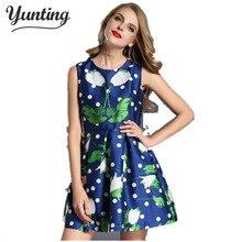 Платье зеленых горошек