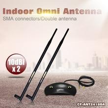 De alta calidad Comfast antena wifi 20dBi Antena Wi Fi Wireless amplificador de señal de largo alcance Al Aire Libre receptor de satélite Envío Libre