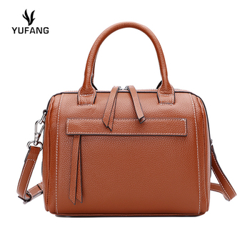 YUFANG Women Shoulder Bag Tote Messenger Bag Genuine Leather Crossbody for lady Fashion Brand New main high quality bag