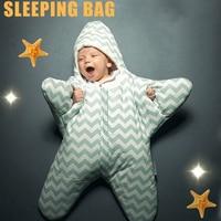 Baby Stroller Sleeping Bag Winter Warm Sleepsacks Robe For Infant Starfish Wheelchair Envelopes For Newborns Footmuff Baby Sleep