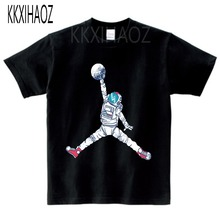 KKXIHAOZ Baby Clothing children t shirts Space Print Kids Baby Boy Tops Short Sleeve T-Shirt Multi-color Summer O-Neck Tee  N9-3