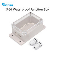 New Sonoff IP66 Waterproof Cover Case for Sonoff Basic Wifi Switch/POW/DUAL/TH16/G1 Smart Home