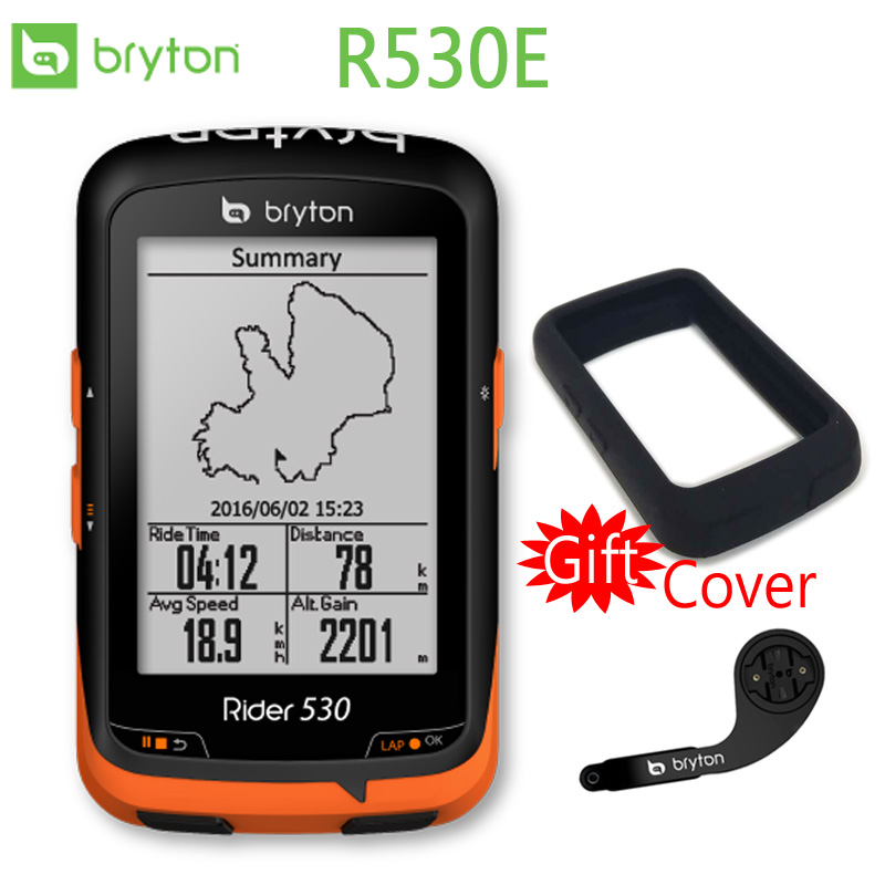 Bryton 530E GPS Vélo Ordinateur De Vélo Mount Extension avec Bluetooth ANT + (Soutien Vitesse Cadence/Vitesse/Coeur taux)