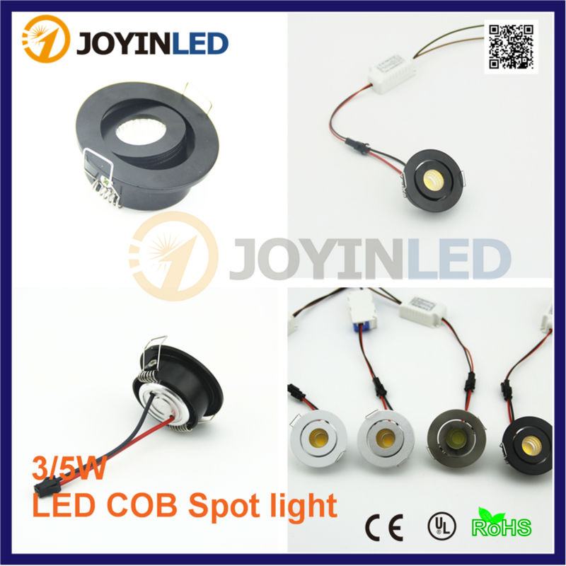 best authentic 5797b edbb0 US $4.83 30% OFF|Factory 3W Micro Led Spot Light White Miniature Mini COB  LED Downlights 3W Small Recessed Spotlights Cob-in LED Spotlights from ...