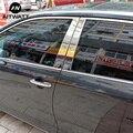 Fit Für Toyota Camry 2006 2016 Edelstahl Fenster Borte Protector Abdeckung Glas Streifen B + C Zentrum Säulen auto Zubehör 6 stücke-in Chrom-Styling aus Kraftfahrzeuge und Motorräder bei