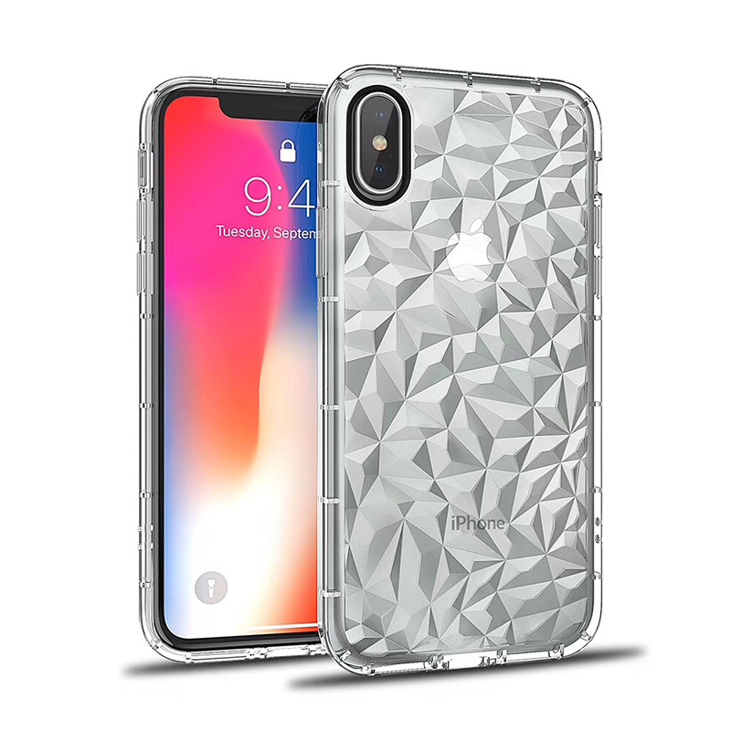 3D Diamond Pattern Phone Case For iPhone X Luxury Ultra Thin Soft TPU Cases For iPhone 7 8 6 6s Plus 5 5 S SE Shining Cover Capa (16)