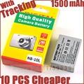 1500mAh NB-10L batteries NB10L NB 10L Camera Battery for Canon G1X G15 G16 SX40HS SX50HS SX60HS SX40 SX50 SX60 HS