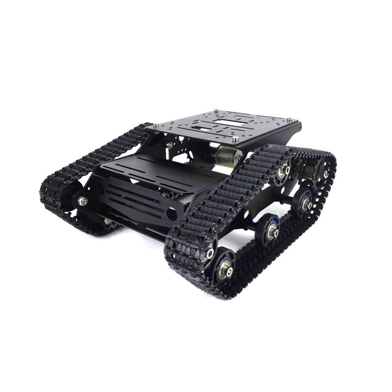 TR300P 37 Motor Tank Tracked Chassis Unassembled Intelligent Car Robot Smart Car Chassis (4 colors optional) timson 2426 page 7