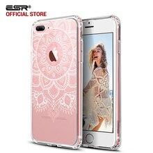 Case для iphone 7/7 plus, ESR Хны Тотем Pattern One Piece Hybrid Case Мягкие TPU Твердый Переплет Защитный case для iPhone 7 7 Plus