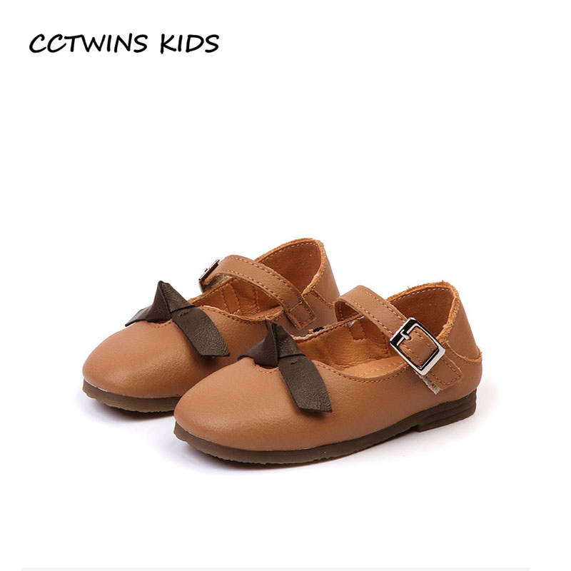 CCTWINS KIDS 2018 Autumn Baby Genuine Leather Mary Jane Children Fashion Butterfly Party Flat Girl Brand Princess Shoe GM2106 cctwins kids 2018 spring fashion pink princess butterfly shoe children genuine leather mary jane baby girl party flat gm1942