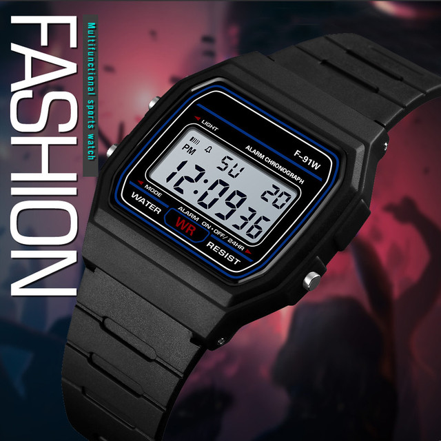 Wristwatch Military Sport Men LED Electronic Wrist Watch Fashion Digital Watches