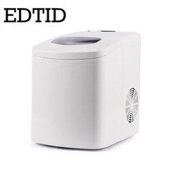 Edtid portátil automático 15 kg/24 h fabricante de gelo casa bala redonda bloco de gelo que faz a máquina para a família pequena barra café da ue
