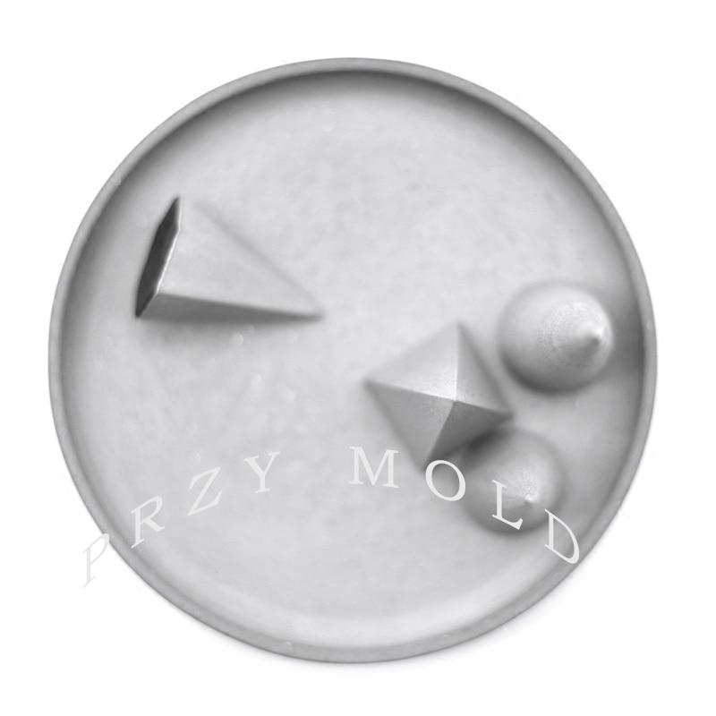 Silikagel silikonform beton zement ring armband schmuckständer - Küche, Essen und Bar - Foto 2