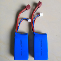 A959 b A969 b A979 b K929 B 1:18 Rc 4WD off road vehicle 1500mah battery part batteries parts 2pcs