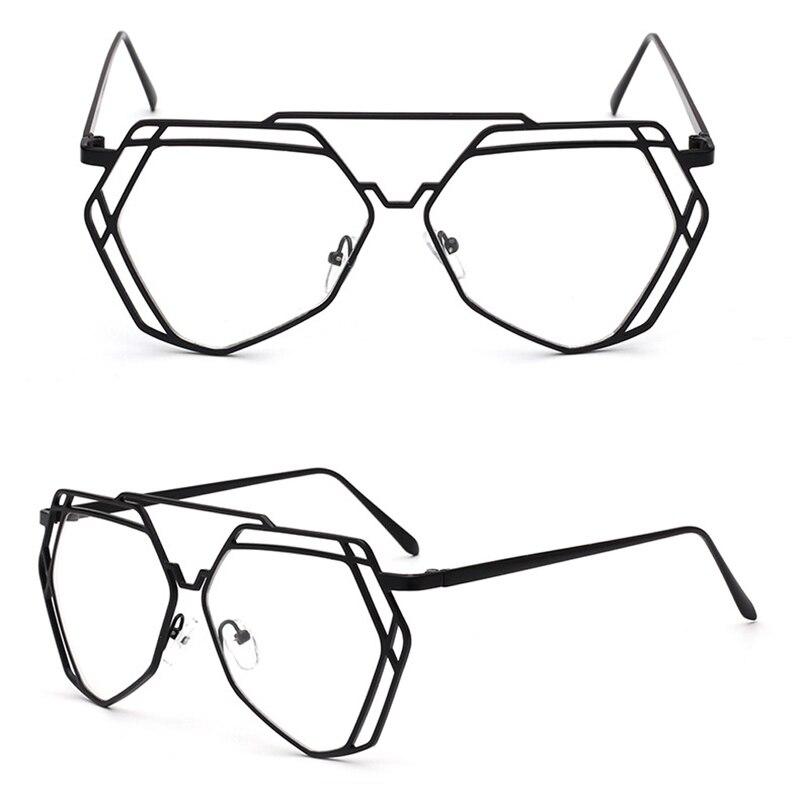 2017 Старинные Мужчины Женщины Очки Круглой Рамке Ясно Полный Обода Очки Женские кадр очки кадр Очки Оптические очки