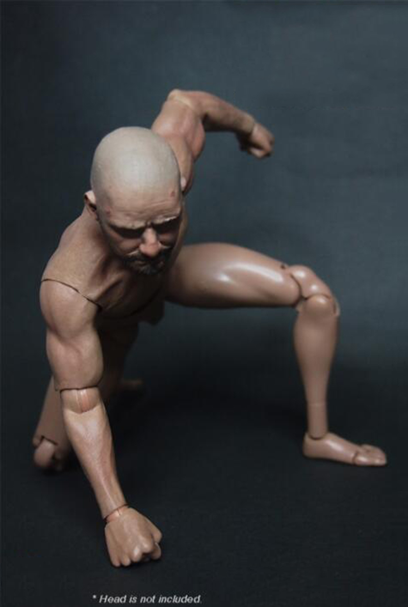 Worldbox 1//6th Hard Material Man Hand Type Fit 12/'/' Male Action Figure Body