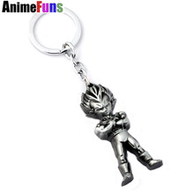 Dragon Ball Z Super Saiyan Metal Keychain Pendant (2 colors)