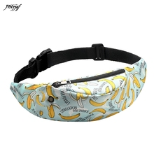 2019 New Unisex Colorful Waist bag Waterproof Sport Travel Fanny Pack Phone Belt Bag Fashion Casual Messenger Bags