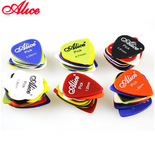 60 Pieces Alice Non-slip ABS Guitar Picks Plectrum Gauge 0.58mm 0.71mm 0.81mm 0.96mm 1.20mm 1.50mm Color Random Parts