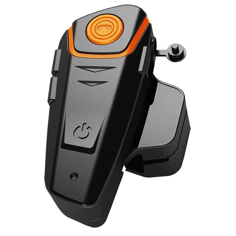 1Pcs Bluetooth Motorcycle Helmet Headset Intercom Communication Headphone BT-S2 Universal Wireless Interphone To 2 or 3 Riders roman r6250 universal 1 to 2 bluetooth v3 0 mono bluetooth earhook headset blue