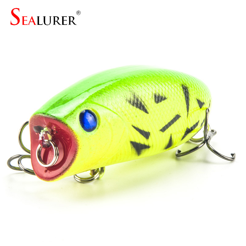 1PCS 11g 5.5cm Poppers Fishing lure Top Water iscas artificiais para pesca crankbaits fishing wobblers leurre swimbait WQ21