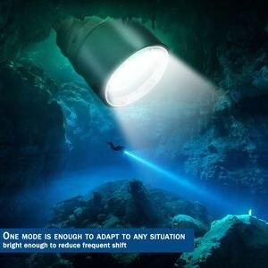 Image 5 - Brightest Torcia Subacquea Professionale XML T6 L2 Portatile Scuba Dive torcia 200M Subacquea IPX8 Impermeabile 18650 Torce Elettriche