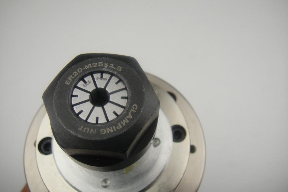 CNC frees spindl ER20 2.2KW vesijahutus spindl +1 veepump + 1 veetoru - Tööpingid ja tarvikud - Foto 5