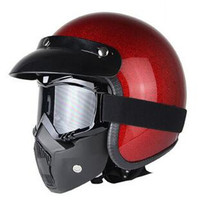 Hot Sale Motorcycle Helmet New Imported Authentic Retro Harley Motorcycle Personalized Helmet Free