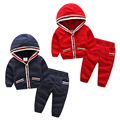 Baby suits spring 2017 new boy children's wear children's coat two-piece trousers fashion casual children clothing boys suits