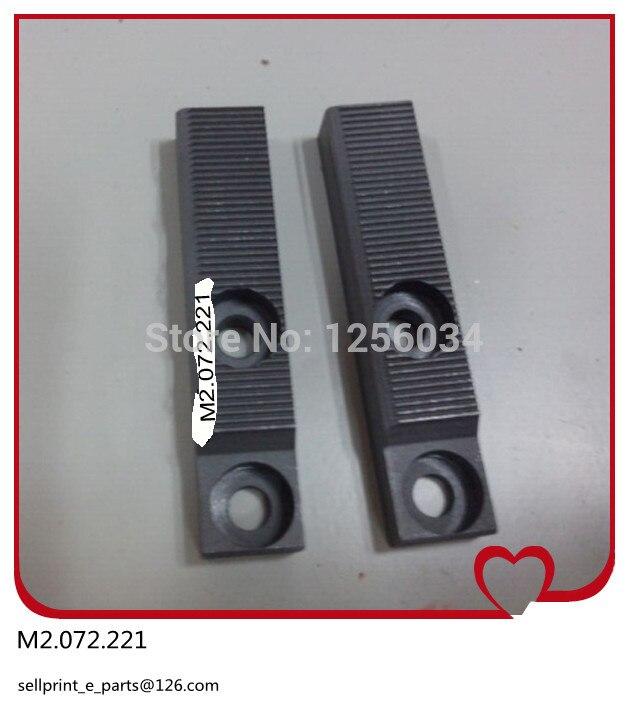 1 set= 2 pieces Pull ordinances for SM74/PM74 heidelberg M2.072.222, M2.072.221 2 pieces festo cylinder valve for pm74 sm74 heidelberg 61 184 1131
