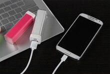 New 2600mAh lipstick mobile power lip gloss phone universal charging treasure Mini charger