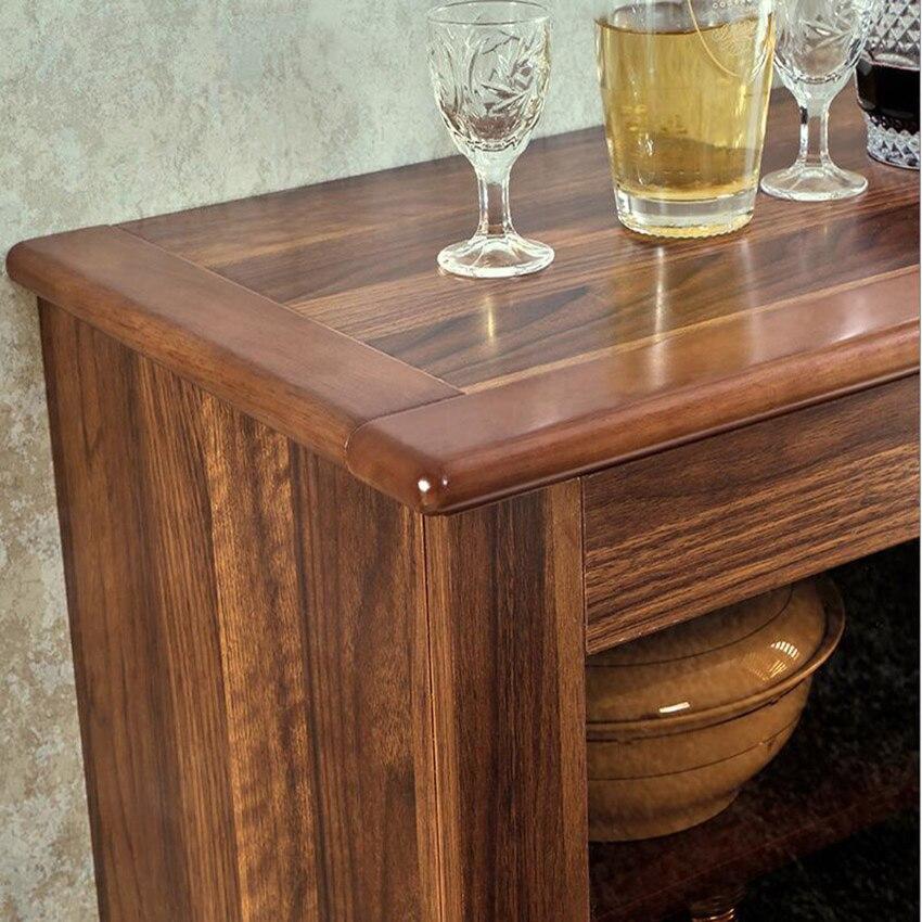 H07/08/09/10 armoire multifonction Style chinois salon petites armoires en bois cuisine Simple armoires de ménage offre spéciale - 5