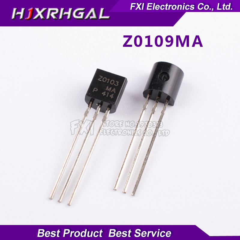 10pcs/lot Transistor Triac <font><b>Z0109MA</b></font> Z0109 original Product image