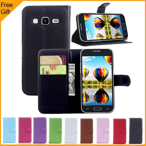 Nueva llegada de lujo billetera funda de cuero para Samsung Galaxy - Accesorios y repuestos para celulares