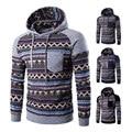 Mens Hoody 2016 Prnit Hooded Mens Sweatshirts Long Sleeve Hooded Male Casual Patchwork Hoodies Men Sweatshirt Plus Size Slim Fit