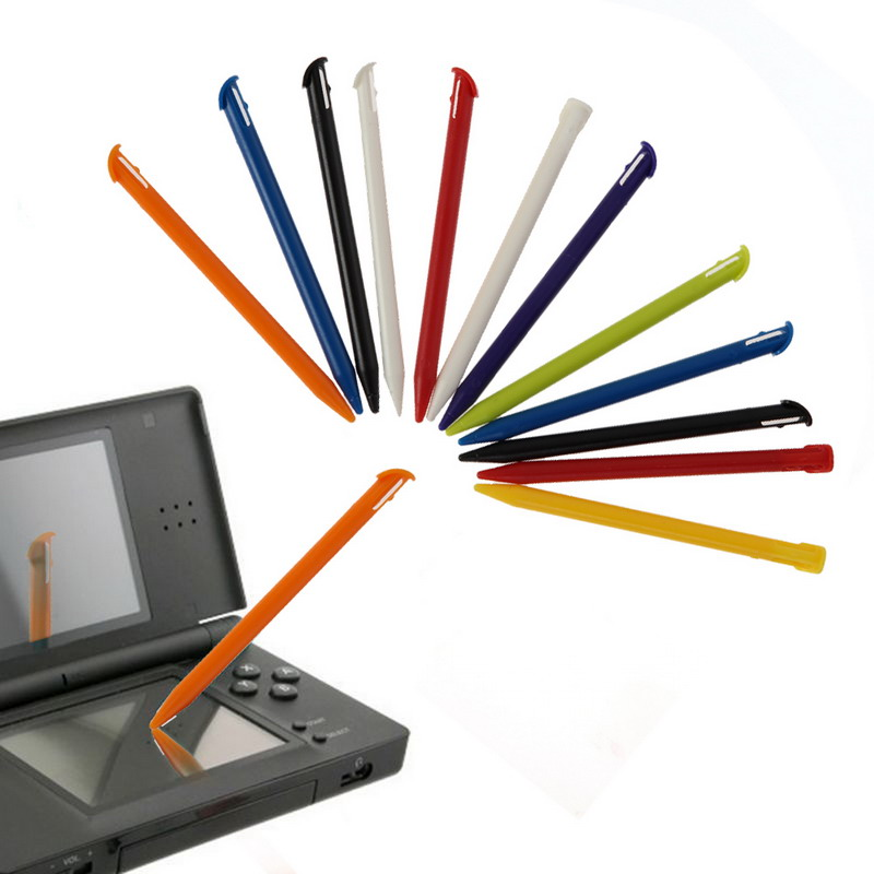 12x Multi-Color Plastic Game Console Touch Screen Pen Stylus Set for N-intendo 3DS XL LL