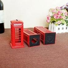 London Red Phone Box Money-Box