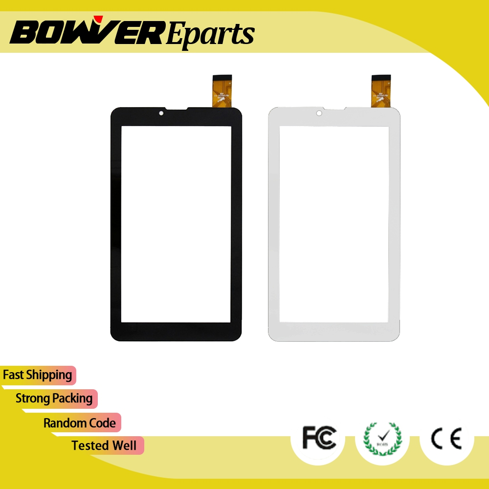 A+ tested New Touch Screen Digitizer For 7 Irbis TZ45 3G Tablet Touch panel Digitizer Glass Sensor replacement tempered glass protector new touch screen panel digitizer for 7 irbis tz709 3g tablet glass sensor replacement free ship