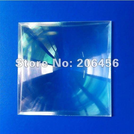 Lentille de fresnel 250 * 250mmF370mm pour projecteur de bricolage lentille en carton google lentille en acrylique plano pour cadeau promotionnel en carton google