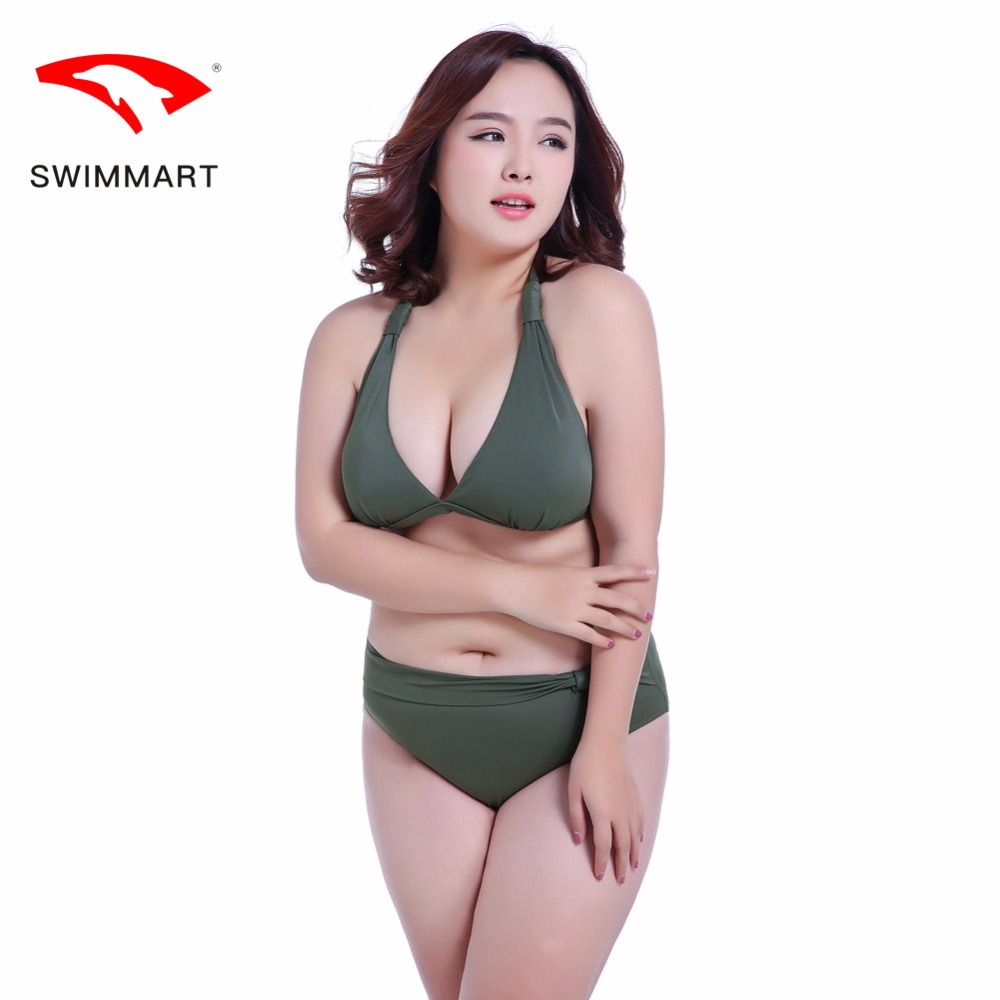 New large size swimsuit female fat M260 pounds swimsuit big breasted EFGH cups gather sexy thin bikini swimsuit WSIMMART beach swimsuit cover belly was thin big chest sexy large size split bikini hot spring swimwear net red bikini